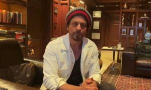Shahrukh Khan urges Dubai Residents to Stay Home