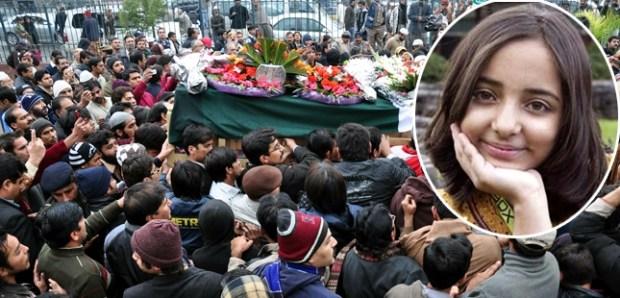 Arfa kareem funeral