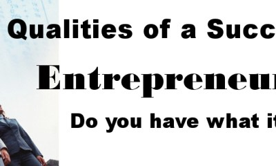 6 characteristics of an Entrepreneur