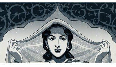 Google paying tribute to Nargis Dutt