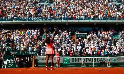 Serena Williams wins French Open