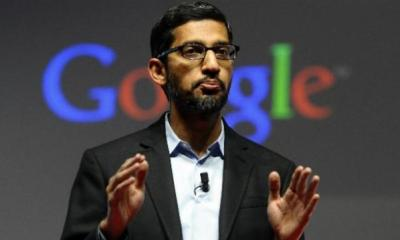 Pichai becomes the CEO of Google