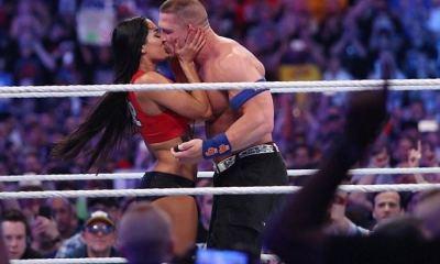 John Cena proposes to Nikki Bella at WrestleMania