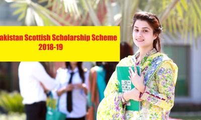 Pakistan Scottish Scholarship Scheme