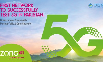 Zong conducts Pakistan's first successful 5G trials