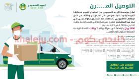 وظائف البريد السعودي للرجال والنساء دوام جزئي بكافة المناطق