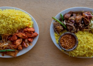Dinner Combinations Hoyo's Kitchen   Fast casual Somali
