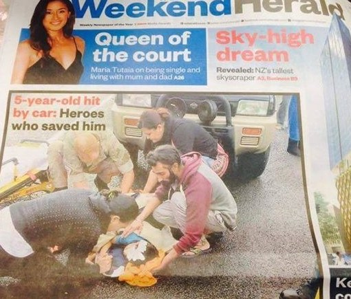 Sikh Saves Young Child's Life With his Turban- See What Happened-