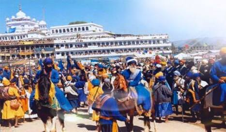 350 year celebrations currently at sri anandpur sahib