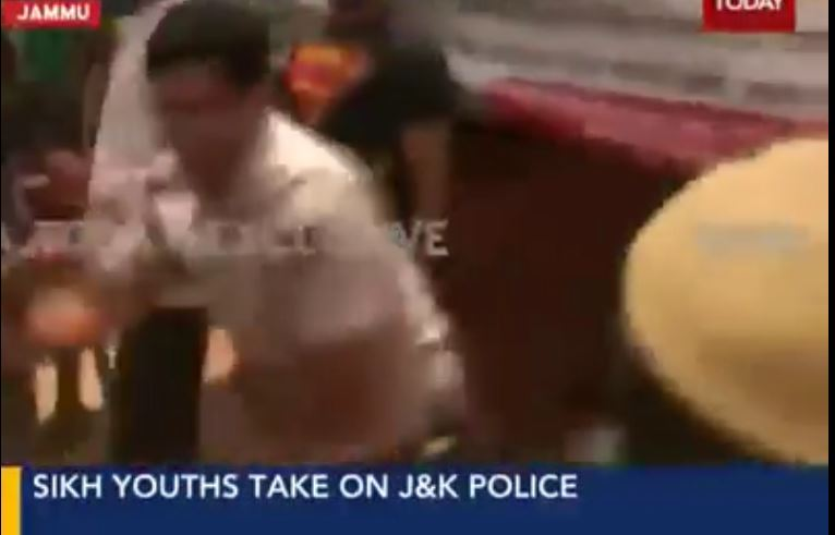 Jammu and Kasmir police vs sikh youths bhindranwale