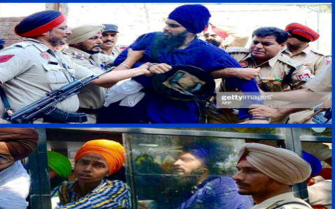 LAST VIDEO OF BRITISH NATIONAL BEFORE ARREST AT SRI HARMANDAR SAHIB