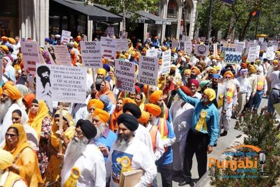 Pictures & Videos London - Thousands of Sikhs march to remember Amritsar temple attack (26)