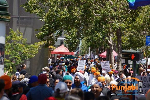 Pictures & Videos London - Thousands of Sikhs march to remember Amritsar temple attack (33)
