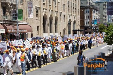 Pictures & Videos London - Thousands of Sikhs march to remember Amritsar temple attack (38)