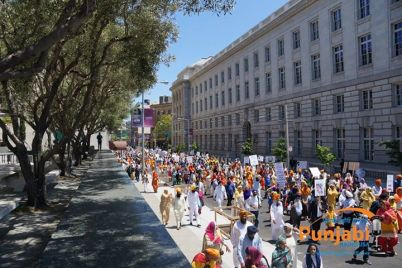 Pictures & Videos London - Thousands of Sikhs march to remember Amritsar temple attack (40)
