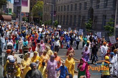 Pictures & Videos London - Thousands of Sikhs march to remember Amritsar temple attack (41)