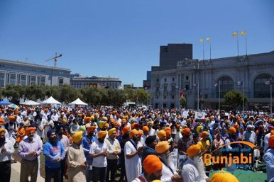 Pictures & Videos London - Thousands of Sikhs march to remember Amritsar temple attack (48)