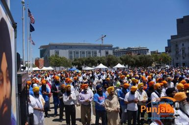 Pictures & Videos London - Thousands of Sikhs march to remember Amritsar temple attack (50)