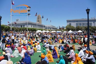Pictures & Videos London - Thousands of Sikhs march to remember Amritsar temple attack (53)