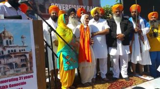 You Won't Believe How California Sikhs Welcomed Bhai Hawara's Mother to Nagar Kirtan
