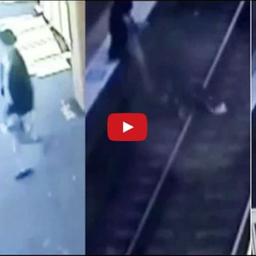 A Sikh Grandfather Saves 18 Month Old Girl!!! - Was Captured On Cctv In The Station