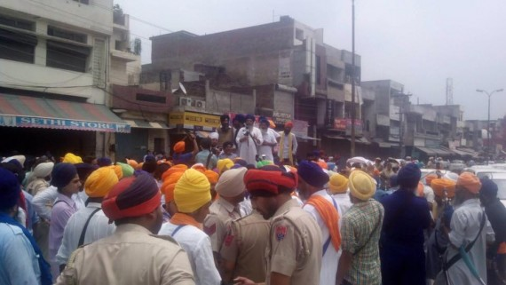 Ludhiana shut down Massive support in support of Bapu Surat Singh