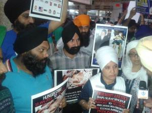 Rally in Delhi in support of Bapu Surat Singh Khalsa and violation of human rights. (10)