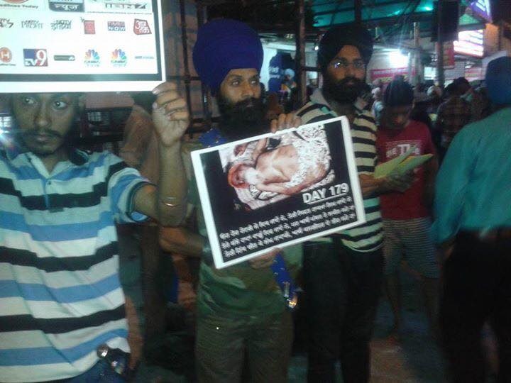 Rally in Delhi in support of Bapu Surat Singh Khalsa and violation of human rights. (7)