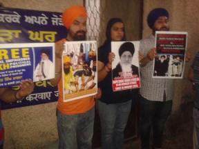 Rally in Delhi in support of Bapu Surat Singh Khalsa and violation of human rights. (8)