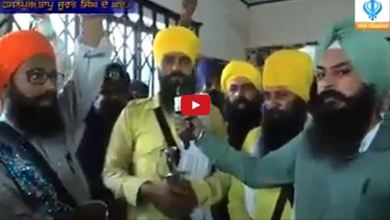 Satkar Committee Open Challenge to Badal on Supported of Bapu Surat Singh Khalsa