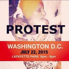 Sikh mass demonstration is taking place right now in front of the WhiteHouse 4