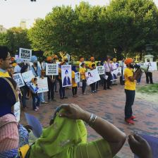 Sikh mass demonstration is taking place right now in front of the WhiteHouse 7