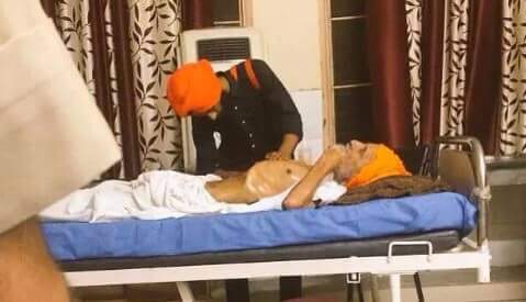 LATEST image of Bapu Surat Singh......