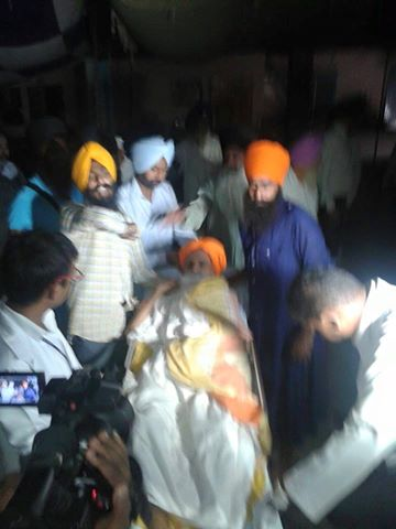 Bapu Surat Singh picked up by police, Shifted to Patiala4