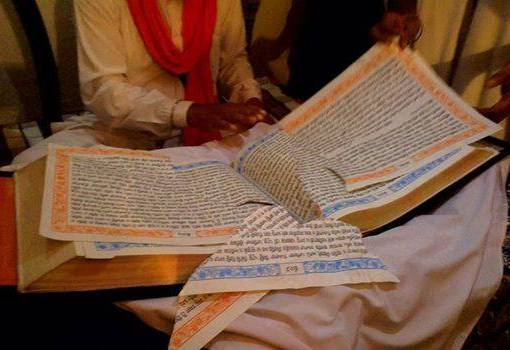 Beadbi of Sri Guru Granth Sahib Ji in village Bahauddin, district Sirsa, Haryana. Culprit arrested.