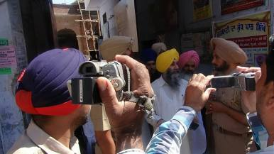 Today police arrested prof.Mohinder pal singh General secratry SADA 2