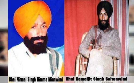 Shaheed Bhai Nirmal Singh Mianwind And Bhai Kamaljit Singh Sultanwind| 18 October 1989
