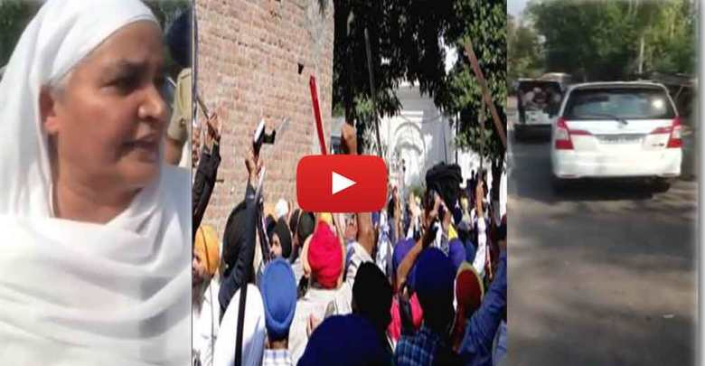 As 100-odd armed men protesting 200 meters from the gurdwara stormed in searching for Akali leaders, more than 500 cops failed to hold them back.
