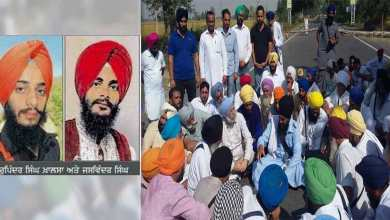 Panchayat members of Panjgrain Khurd village along with local residents and activists of several Sikh organisations today passed a resolution demanding the release of two brothers held for the sacrilege incident at Bargarhi village in Faridkot.