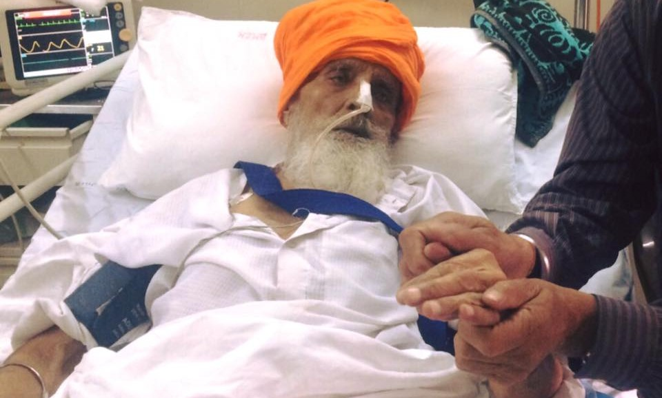 Bapu Surat Singh Khalsa's struggle has entered its 312th day on 23 November, 2015