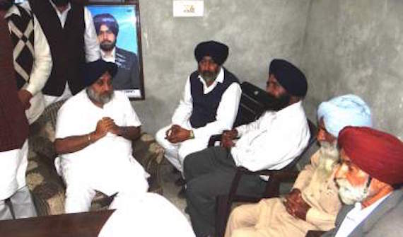 Sukhbir-Badal-offers-government-jobs-to-each-family-member-of-Behbal-Kalan-firing-victims