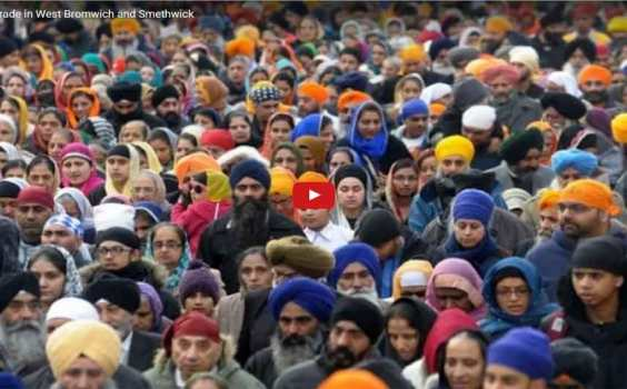 Birmingham UK :- Thousands Gather for Guru Nanak's GurPurb