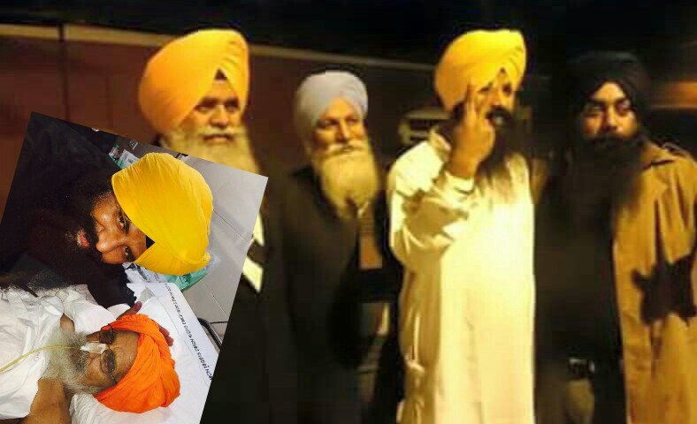 "Bhai Lakhwinder Singh Ji ""Lakha"" was again Released"