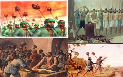 Mass torture and persecution of Sikhs