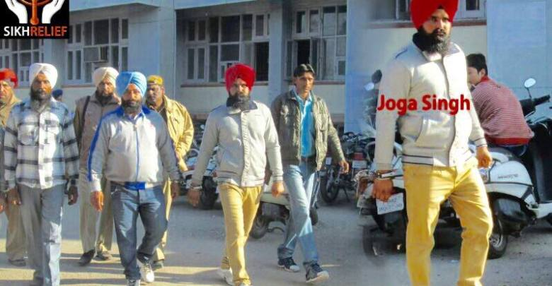 JOGA SINGH WAS RELEASED