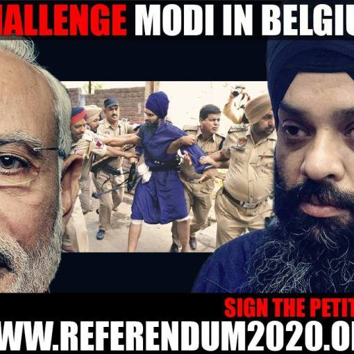 Bhai Pamma to Challenge Modi in Belguim | Sign Petition Referendum2020.org