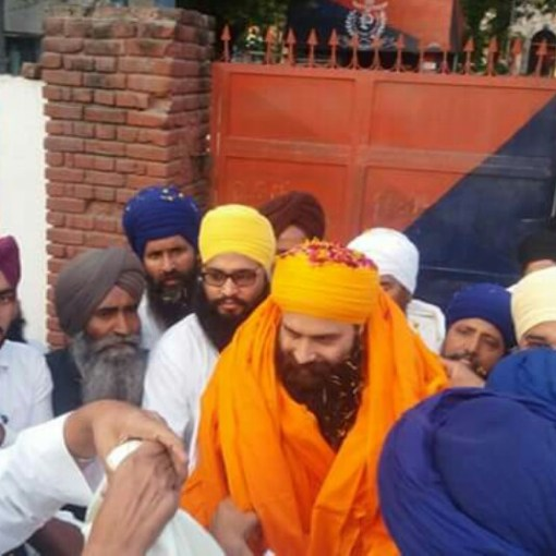 Bhai Baljit Singh Daduwal was released from Hoshiarpur jail