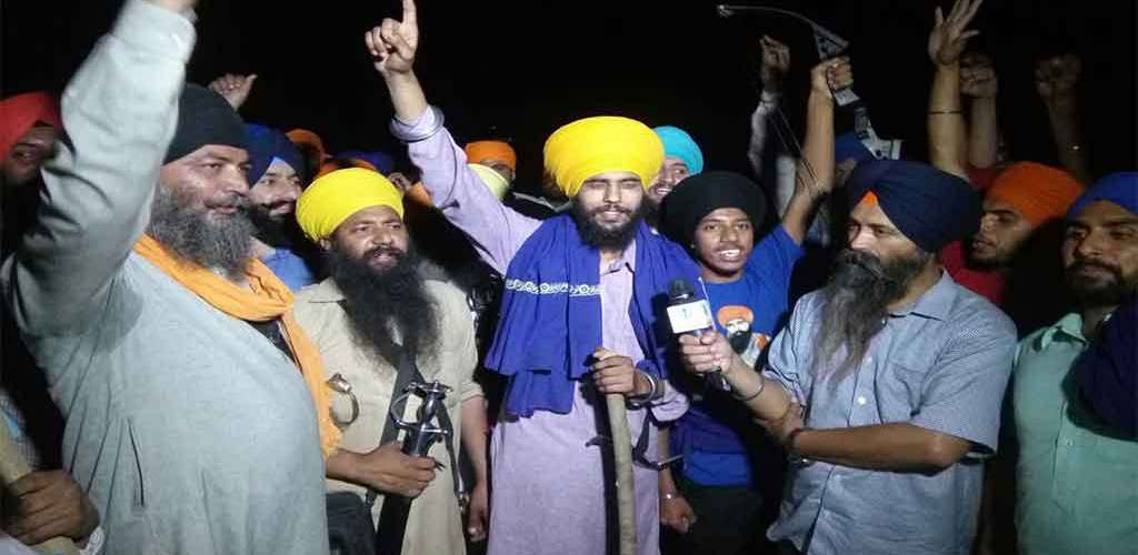 Braking News :- Sikh Sangat Reached Beas Head | Raising Slogan Of #Khalistan #Zindabad | Challenges To Bandar Sena Lalakr Rally