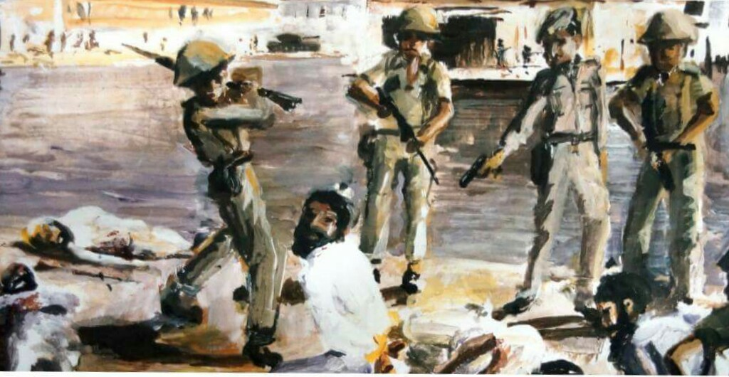June 7, 1984 :- Battle Already Winding Down & Indian Army in Full Control of the Complex