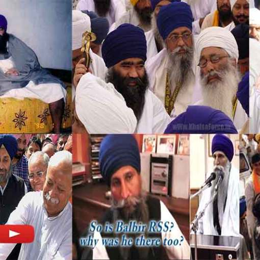 Some Fake Sikh Jathebandis and Parchariks Links Exposed With RSS